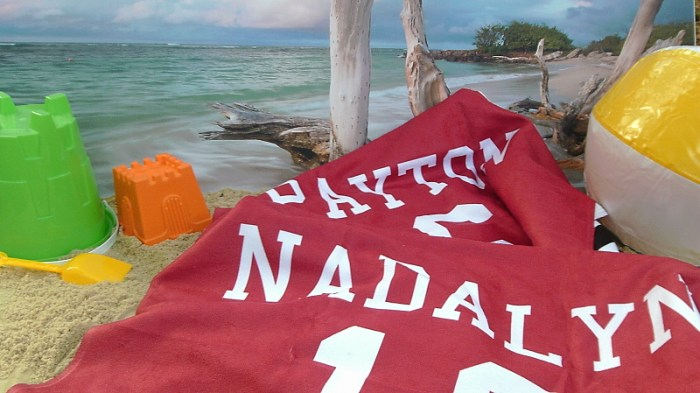 Just So Posh Beach Towels - Nadalyn and Payton
