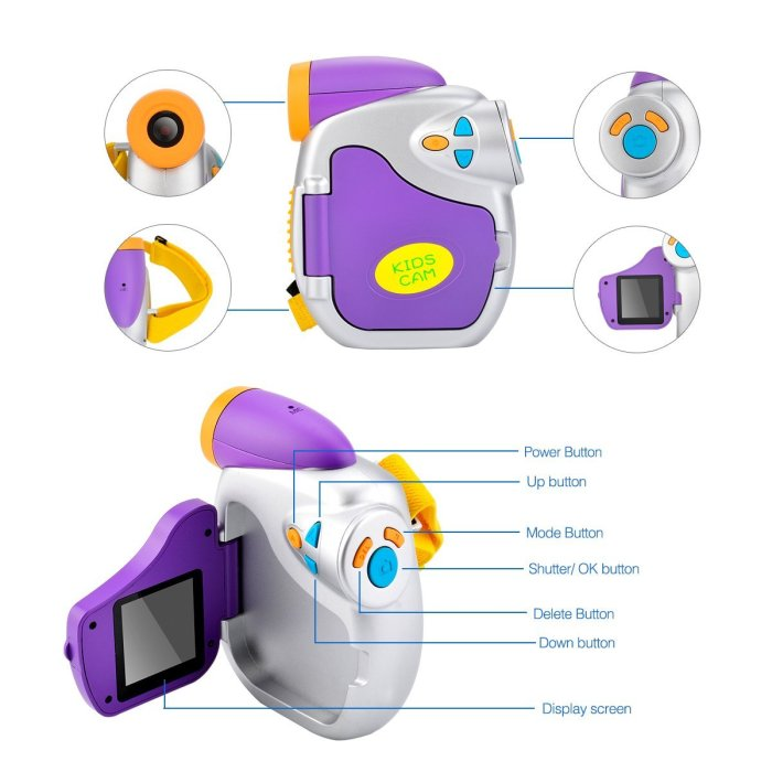 Kids Powpro Digital Video Camera Giveaway