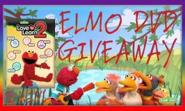 Sesame Street Love To Learn 2 Elmo DVD Giveaway Ends April 4th