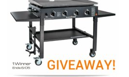 Blackstone Products 36″ Outdoor Griddle Giveaway! Ends 6/05
