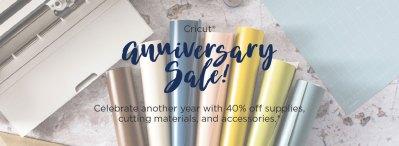 Cricut Anniversary Sale