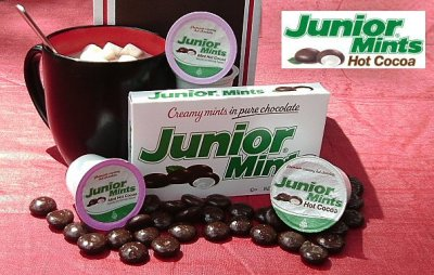 Junior Mints Mint Hot Cocoa