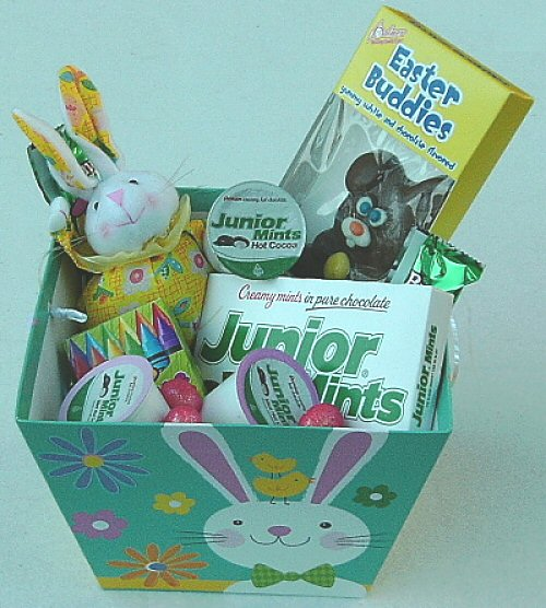 Junior Mints Mint Hot Cocoa - Smooth Peppermint and Indulgent Dark Chocolate Easter Basket