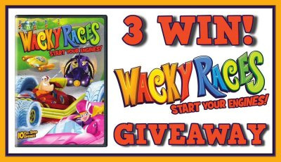 Hanna-Barbera Wacky Races Start Your Engines DVD Giveaway Ends 4/22