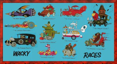 Wacky Races Start Your Engines Characters