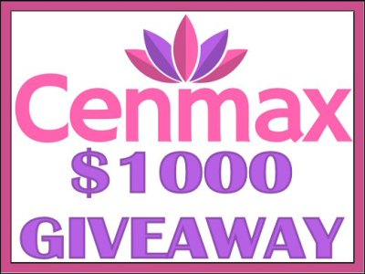 Cenmax $1000 Giveaway