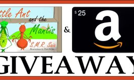 Autographed Little Ant and the Mantis $25 Amazon Giveaway Ends 6/20