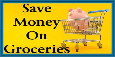 Tips and Tricks To Save Money On Groceries Piggy Bank