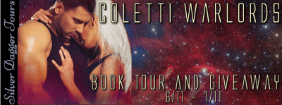 $25 Amazon Giveaway & Coletti Warlords Book Tour