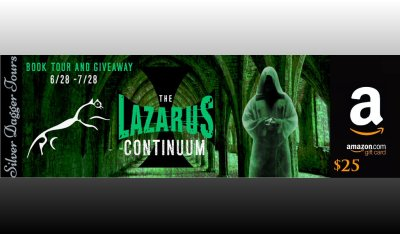 $25 Amazon Giveaway & The Lazarus Continuum Book Tour