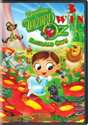 Dorothy and the Wizard of Oz Emerald City DVD Giveaway