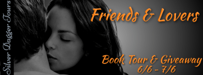 Friends & Lovers Book Tour & Swag Pack Giveaway banner