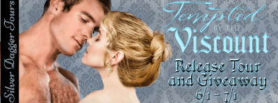Tempted By the Viscount Book Tour & $20 Amazon Giveaway release banner