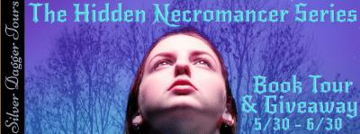 The Hidden Necromancer Series Book Tour & $10 Amazon Giveaway