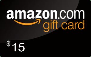 amazon $15 gift card giveaway