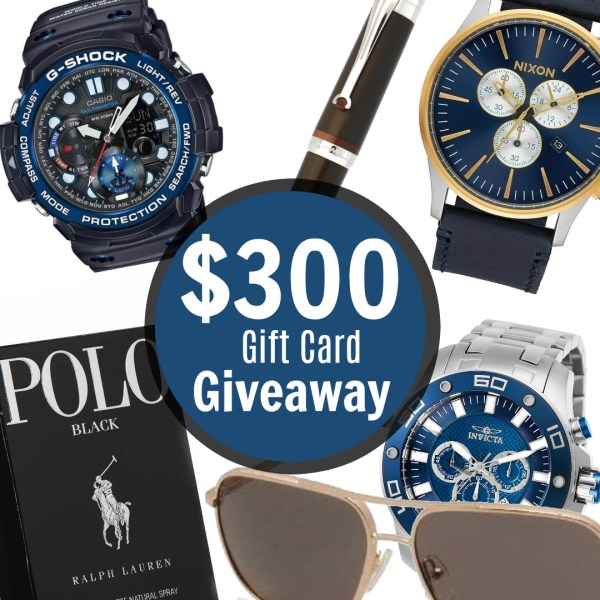 Enter Now! My Gift Stop $300 Summer Giveaway #watches #menwatches #menscologne #gshock #nixonwatches #invictawatches #poloblack #sunglassesformen #Montegrappafountainpen