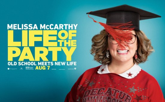 Old School Meets New Life - Own Life of the Party on Blu-ray and DVD August 7th or Own It NOW on Digital HD!