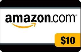 $10 Amazon Gift Card Giveaway