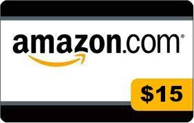 Amazon $15 gift card