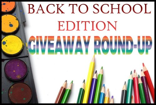 Back To School Edition of GIVEAWAYS TO ENTER POST – Enter to WIN IT in August!