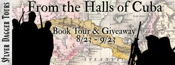 Sweet Southern Savings is hosting today's blog tour stop for C E Porch'sFrom the Halls of Cuba Book Tour.Stop by for more about this book, the author, and a tour-wide giveaway! #Win #Winit #Winning #Sweeps #Sweepstake #Sweepstakes #Contest #ContestAlert #Competition #Giveaway #GiveawayAlert #Prize #Amazon #BookTour #Book #Read