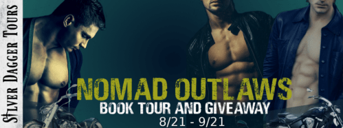 Sweet Southern Savings is hosting today's blog tour stop for Tory Richards' Nomad Outlaws Book Tour. Stop by for more about this book, the author, and a tour-wide giveaway! #Win #Winit #Winning #Sweeps #Sweepstake #Sweepstakes #Contest #ContestAlert #Competition #Giveaway #GiveawayAlert #Prize #Amazon #BookTour #Book #Read