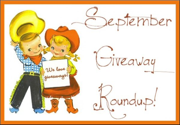 HUGE #GIVEAWAY ROUND UP - Enter to #WIN IT in September! #WinningWednesday #WinItWednesday #Sweeps #Sweepstakes