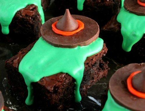 Wizard Of Oz Wicked Witch Melting Witch Brownie