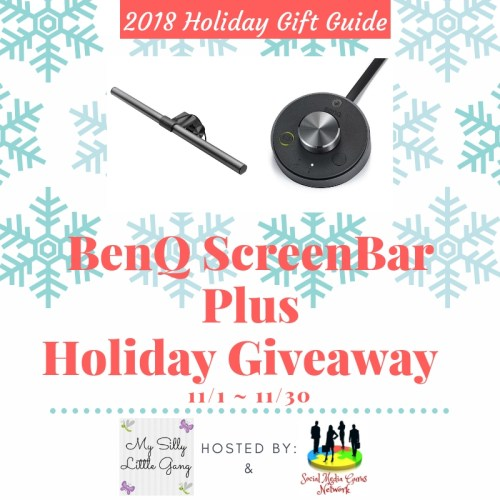 BenQ ScreenBar Plus e-Reading Lamp Holiday Giveaway Ends 11/30