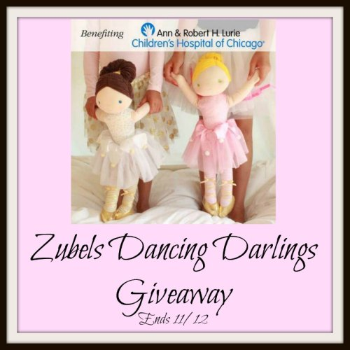 Win Your Choice of Zubels Dancing Darlings! Giveaway Ends 11/12