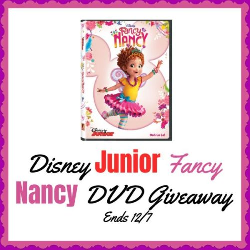 Enter for a chance to #Win a Disney Junior Fancy Nancy DVD when this #Giveaway ends 12/7. #GiveawayAlert #Prize #Free #Gift #Holiday