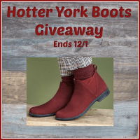 One lucky reader will #win a pair of Hotter York Boots in their choice of color and size when this #Holiday #Giveaway ends 12/1. #SMGN #GiftGuide #Winit #Sweeps #ContestAlert #GiveawayAlert #Prize #Free #Gift #Christmas