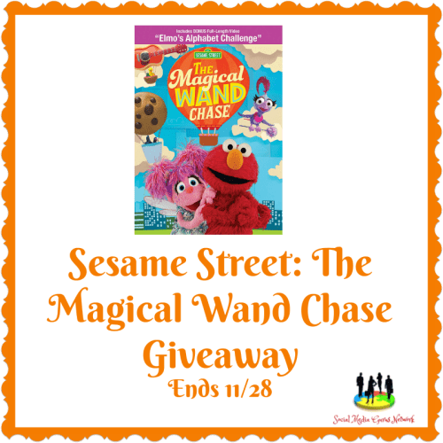 Enter for a chance to #Win a Sesame Street: The Magical Wand Chase DVD when this #Giveaway ends 11/28. #GiveawayAlert #Prize #Free #Gift #Holiday