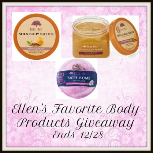 One lucky winner will a prize package consisting of Ellen's favorite body products when they win this Holiday Giveaway that ends 12/28 #SMGN #GiftGuide #Win #Winit #Sweeps #ContestAlert #Giveaway #GiveawayAlert #Prize #Free #Gift #Holiday #Christmas
