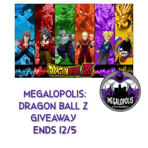 Enter for a chance to #Win a Dragon Ball Z Megalopolis Prize Package when this #Giveaway ends 12/5. #SMGN #GiftGuide #WinIt #GiveawayAlert #Prize #Free #Gift #Holiday
