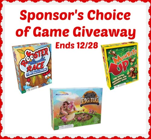 One lucky winner will win Sponsor's Choice of Game when they win this Holiday Giveaway that ends 12/28 #SMGN #GiftGuide #Win #Winit #Sweeps #ContestAlert #Giveaway #GiveawayAlert #Prize #Free #Gift #Holiday #Christmas