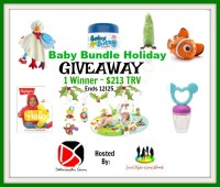 Onewinner receives 7 prizes worth $213 when this Baby Bundle Holiday Giveaway ends 12/25. #Winit #Giveaway #Prize #Free #Gift #SMGN #Holiday #GiftGuide