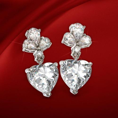 This #Valentine's Day Gift Guide #Giveaway For a Pair of Stauer DiamondAura Sweetheart Earrings Ends 2/14 #win #jewelry #contest