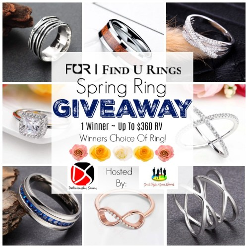 This ?Spring/?Easter Gift Guide #Giveaway For Choice of Ring up to $360 Ends 4/21. #Spring #Easter #Jewelry #Winit #Contest
