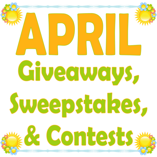 Join us in welcoming Spring by entering the Giveaways, Sweepstakes, and Contests in our monthly ROUNDUP. Win fabulous prizes in the month of APRIL! #Spring #Easter #Passover #Winit #Contest #Giveaway #Sweepstake #Win #Prize #Free