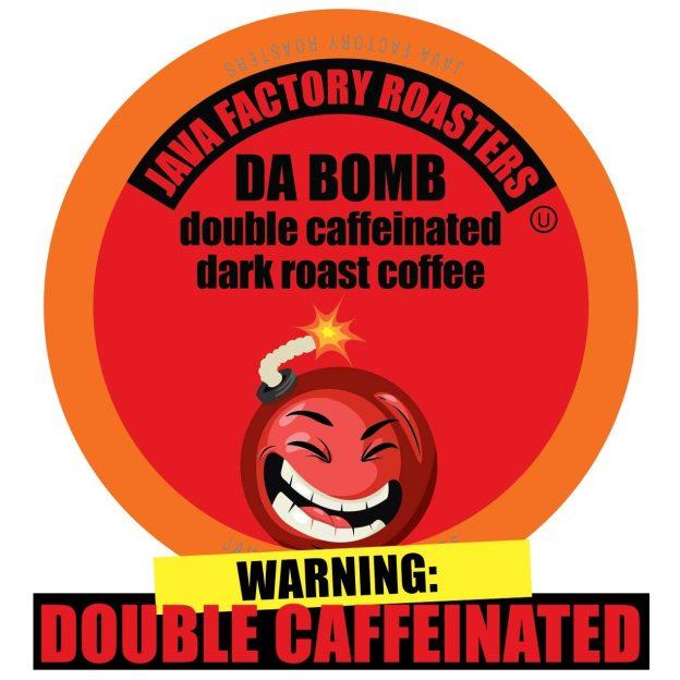 Java Factory Da Bomb Extra Bold Double Caffeinated Coffee