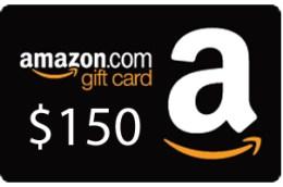 Amazon $150 Gift Card