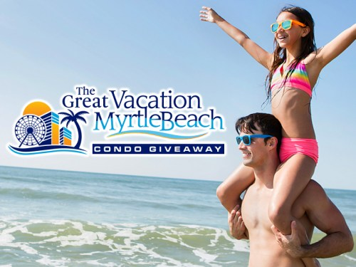 The Great Vacation Myrtle Beach Condo #Giveaway - Enter to #WIN an OCEANFRONT CONDO or $50,000 #CASH! #Prize #Sweepstakes #Contest #Vacation #Travel