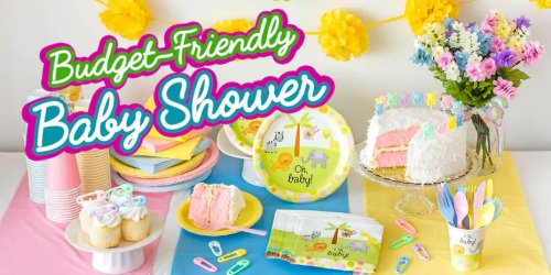 How To Host a Baby Shower on a Small Budget - Budget Friendly Baby Shower Decorations