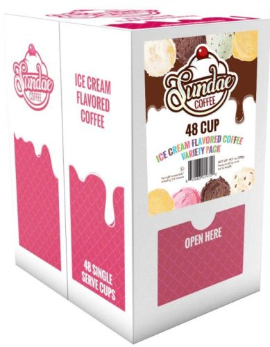 🍦 Enter to #win a 48-count box of 🍨 Sundae ICE CREAM Flavored #Coffee ☕ single-serve pods before this #giveaway ends 9/2. #Contest #Winit