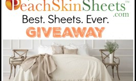 One lucky reader will #WIN a set of PeachSkinSheets in their choice of size and color when this Gift Guide #Giveaway ends 10/20.