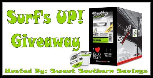 Surf's UP! Big Kahuna White Chocolate Macadamia Nut Coffee Giveaway