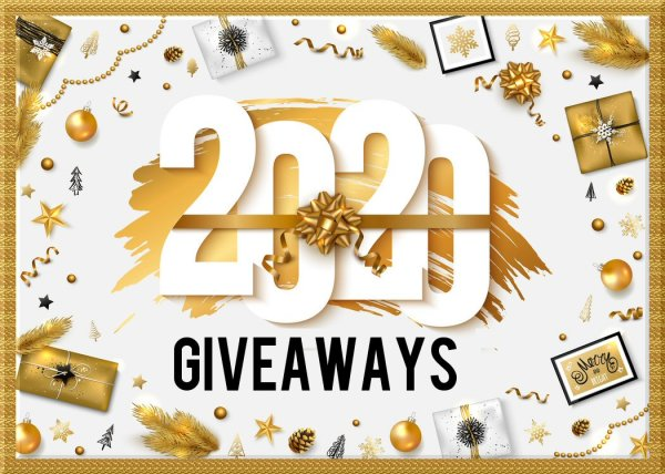 2020 GIVEAWAYS Happy New Year
