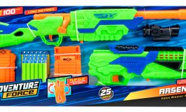 🎄 Enter and you could #WIN an Adventure Force Arsenal ~ Soft Dart Gun when this #SMGN Holiday Gift 🎁 Guide #Giveaway ends 12/8. @SMGurusNetwork