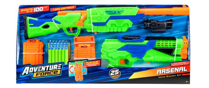 🎄 Enter and you could #WIN an Adventure Force Arsenal ~ Soft Dart Gun when this #SMGN Holiday Gift 🎁 Guide #Giveaway ends 11/27. @SMGurusNetwork